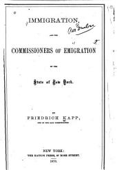 Immigration and the Commissioners of Emigration of the State of New York