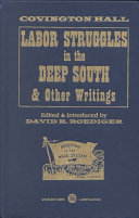 Download Labor Struggles in the Deep South   Other Writings Book