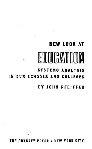 New Look at Education PDF