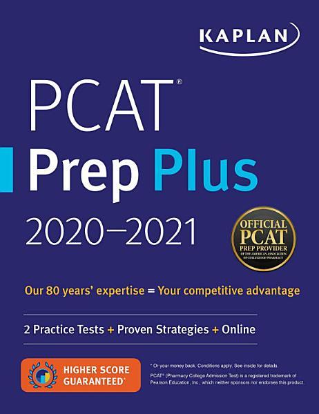 PCAT Prep Plus 2020 2021 PDF