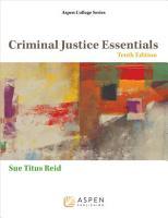 Criminal Justice Essentials PDF
