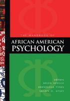 Handbook of African American Psychology PDF