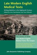 Late Modern English Medical Texts