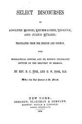 Select Discourses by Adolphe Monod, Krummacher, Tholuck, and Julius Müller