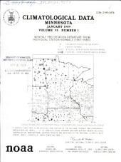 Climatological data: Minnesota, Volume 95