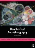 Handbook of Autoethnography PDF