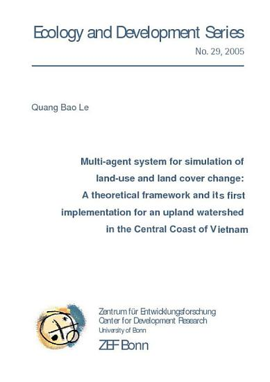 Multi agent system for simulation of land use and land cover change PDF