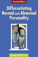 Differentiating Normal and Abnormal Personality PDF