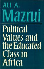 Political Values and the Educated Class in Africa