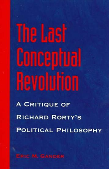 The Last Conceptual Revolution PDF