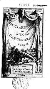 Ricciardetto di Nicolo Carteromaco: Volume 2
