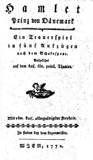 Hamlet  Prinz von D  nemark  Ein Trauerspiel in f  nf Aufz  gen nach dem Schakespear  by Franz von Heufeld   etc PDF