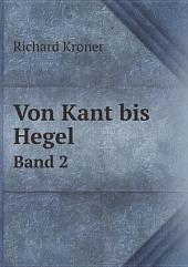 Von Kant bis Hegel