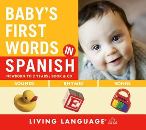 Baby s First Words in Spanish Book