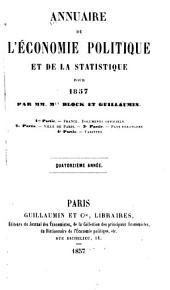 Annuaire de l'économie politique et de la statistique: Volume14