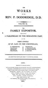 The Works of the Rev. P. Doddridge: Volume 9