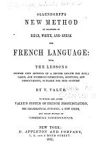 Ollendorff's New Method of Learning to Read, Write, and Speak: the Spanish Language