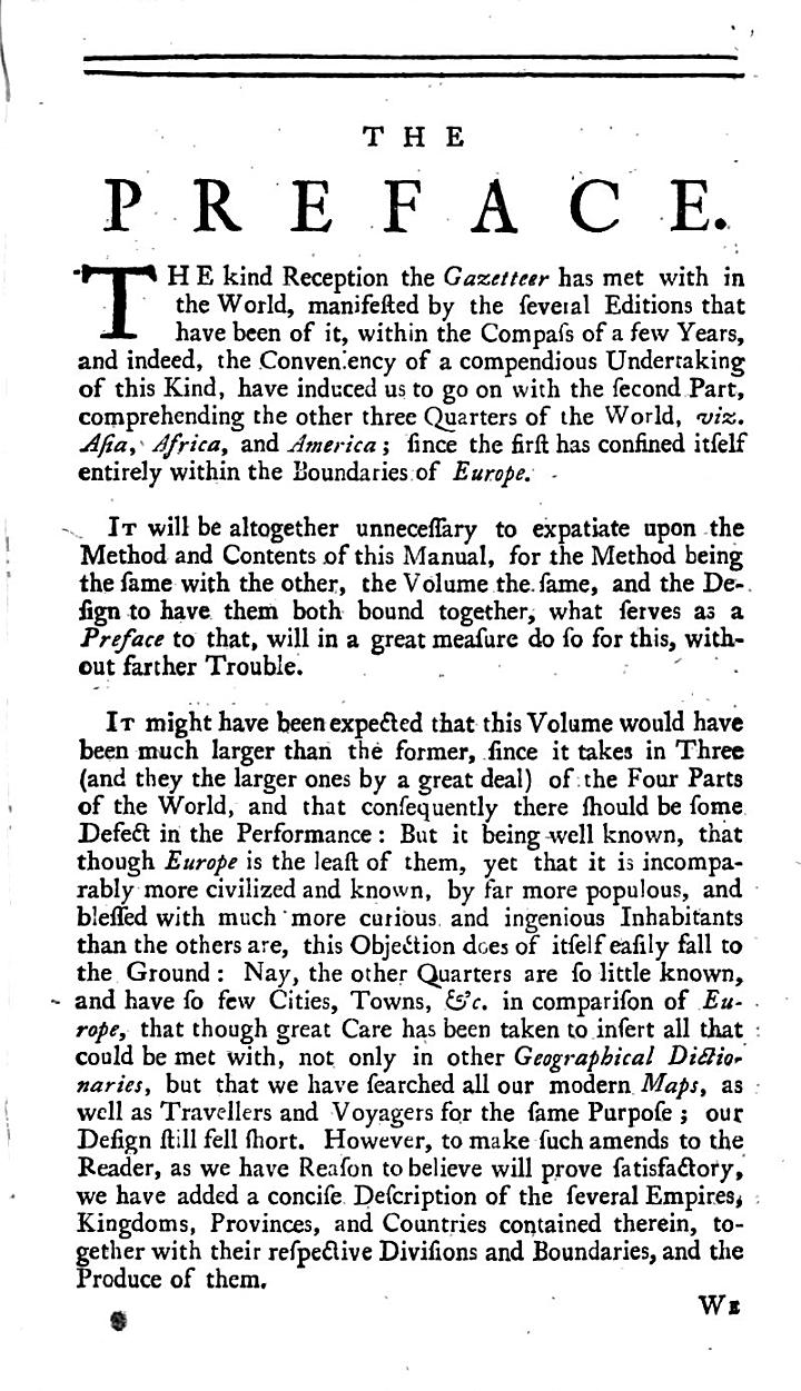 The Gazetteer's, Or, Newsman's Interpreter ... The Second Part ... The Eighth Edition, Corrected and Enlarged
