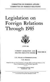 Legislation on Foreign Relations Through     PDF
