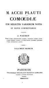 Comoediae: Amphitruo Captivi, Volume1