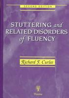 Stuttering and Related Disorders of Fluency PDF