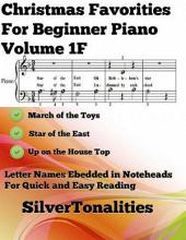 Christmas Favorites for Beginner Piano Sheet Music Volume 1 F