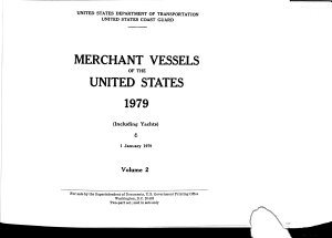 Merchant Vessels Of The United States Book PDF