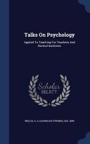 Talks on Psychology
