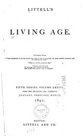 Littell's Living Age: Volume 188