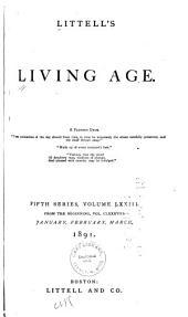 Littell's Living Age: Volume 188