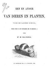Een en ander van dieren en planten, voor de lagere school: Volume 1