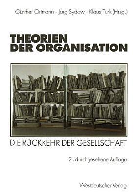 Theorien der Organisation PDF