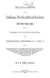 Proceedings:  (1889), Volume 29