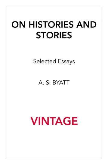 On Histories And Stories PDF