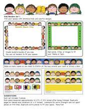 Kids Borders Set 1 by Karen's Kids