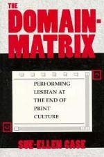 The Domain-Matrix