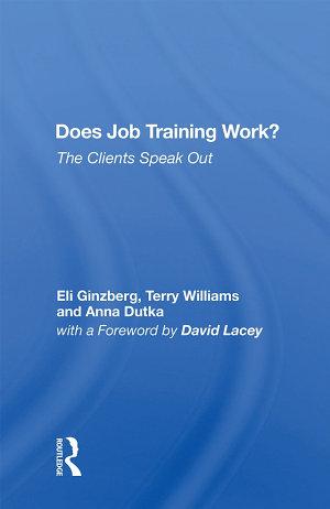 Does Job Training Work