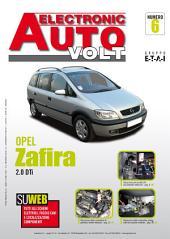 Manuale di elettronica Opel Zafira A: 2.0 DTI - EAV6