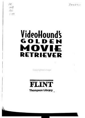 VideoHound s Golden Movie Retriever 1999