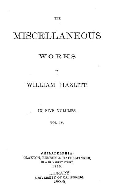 Download The miscellaneous works Book