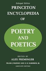Princeton Encyclopaedia of Poetry and Poetics
