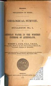 Artesian Water in the Western Interior of Queensland: Issue 101