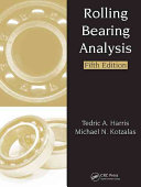 Rolling Bearing Analysis  Fifth Edition   2 Volume Set Book