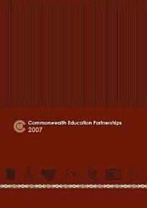 Commonwealth Education Partnerships  2007 PDF