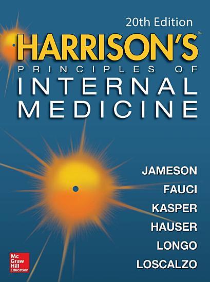 Harrison s Principles of Internal Medicine 20 E  Vol 1   Vol 2   ebook  PDF