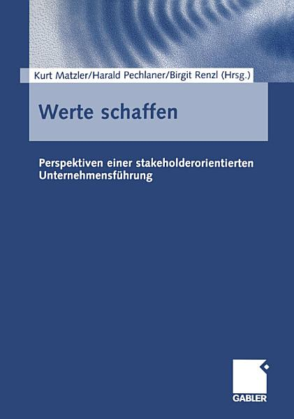 Werte schaffen PDF