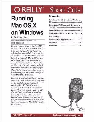 Running Mac OS X on Windows