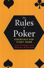 The Rules Of Poker: Essentials For Every Game