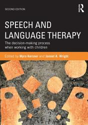 Speech And Language Therapy Book PDF