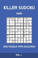 Killer Sudoku Hard 200 Puzzle With Solution Vol 1